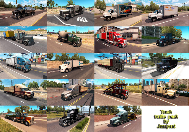ats truck traffic pack v2.1 screenshots 2
