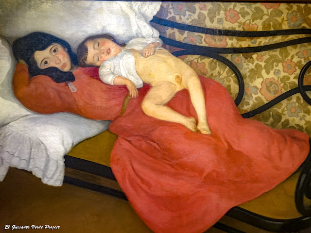 Maternidad, Ángel Larroque - Museo Bilbao por EGVP