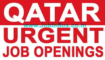 New urgent  job openings in Qatar