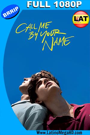 Llámame por tu Nombre (2017) Latino  FULL HD 1080P ()