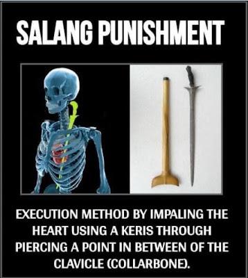 Eksekusi mati hukuman salang