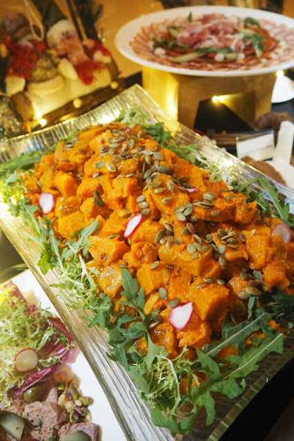 Butter Pumpkin Squares Element Restaurant Review