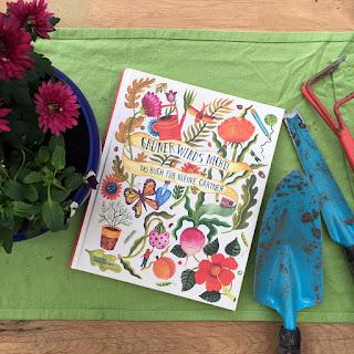 """""""Grüner wird's nicht! Das Buch für kleine Gärtner"""" von Kirsten Bradley, illustriert von Aitch, erschienen im Verlag Kleine Gestalten, ist ein 56-seitiges Gartenbuch für Kinder ab 4 Jahren"""