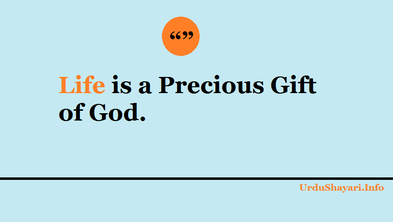 words to live by, God quotes about life