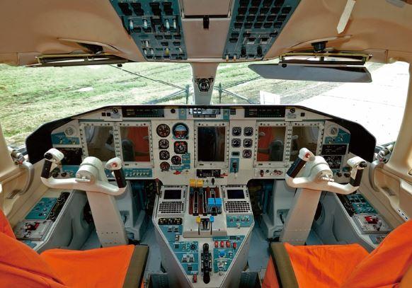 Sukhoi Su-80 cockpit