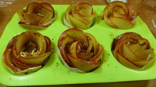 Rosas de manzana