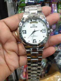 Jual Jam Tangan Mirage warna Silver