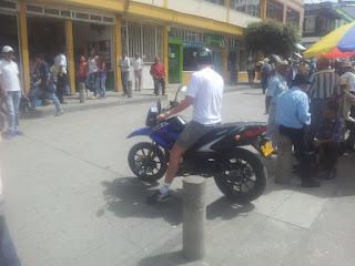 Prueba de moto keeway