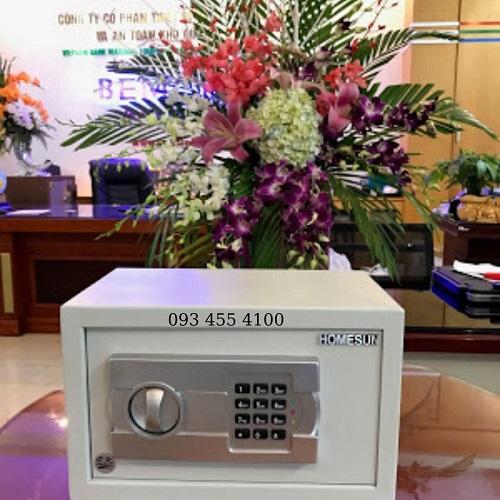 Két điện tử mini, két khách sạn điện tử mini chính hãng HomeSun giá rẻ Hà Nội