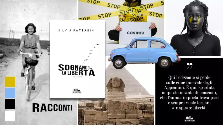 Sognando la libertà, una raccolta di racconti di Silvia Pattarini