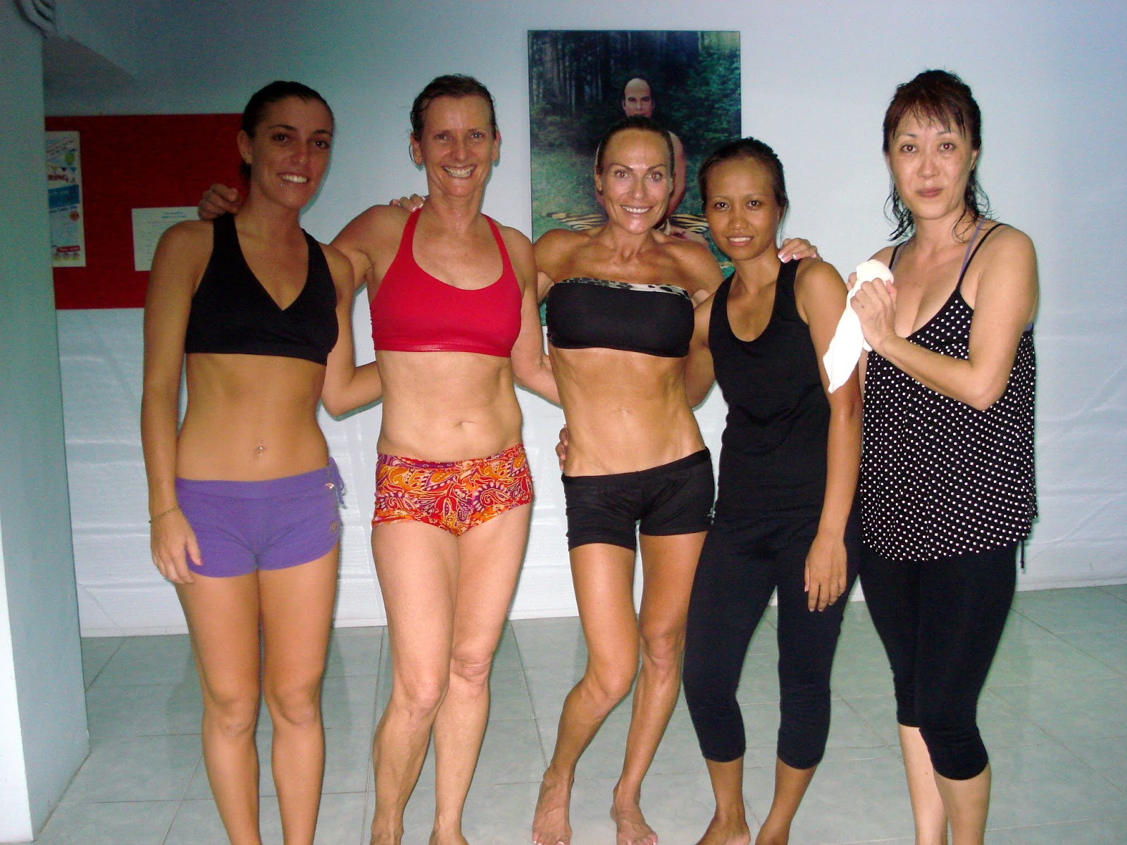 Bikram Yoga Studio Et Thailand