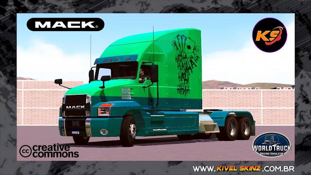 MACK ANTHEM 64T - THE JOKER