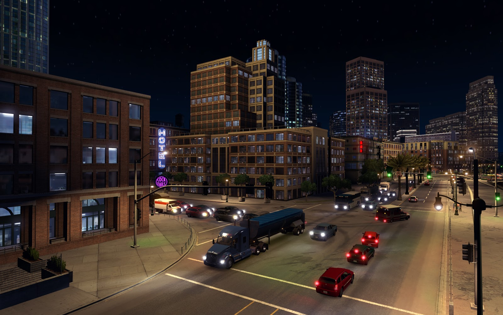 SCS Software's blog: American Truck Simulator Map DLC