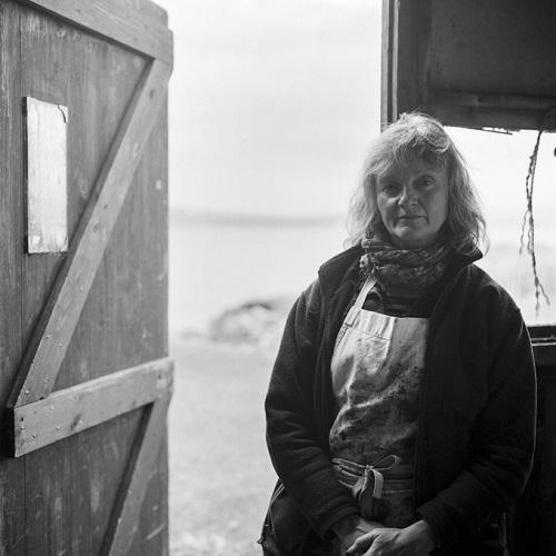 Kevin Percival, fotos en blanco y negro, imagenes, retrato de mujer trabajadora,