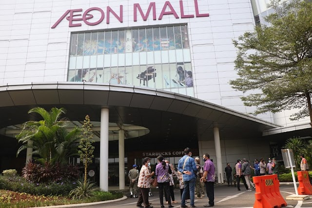 Aeon Mall Tutup 2 Minggu, Akibat 2 Karyawan Positit Covid-19