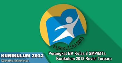 Perangkat BK Kelas 8 SMP/MTs Kurikulum 2013 Revisi 2019