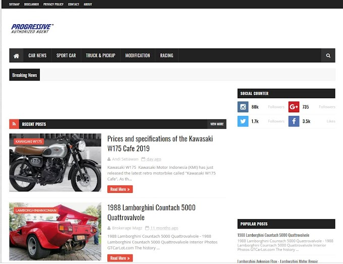 Jual Blog Sportcarsmodify Niche Otomotif