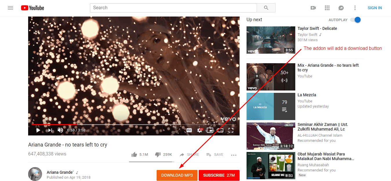 chrome | YouTube video downloader enables you to download videos in