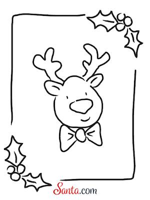 Santa.com Reindeer Printable