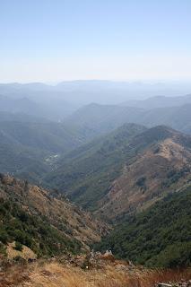 vue depuis le mont Aigoual, Cévennes, jpeg