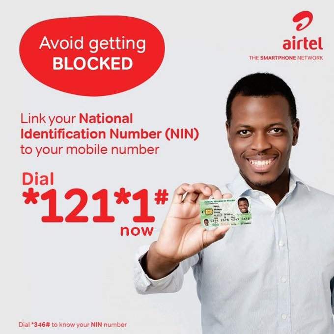 How To Link Airtel Number To NIN