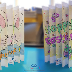 Easter Bunny Agamograph Art For Kids The Joy Of Sharing