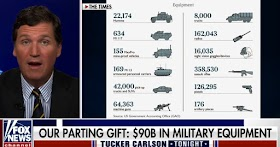 Biden left all US weapons to the Taliban at the expense of American taxpayers