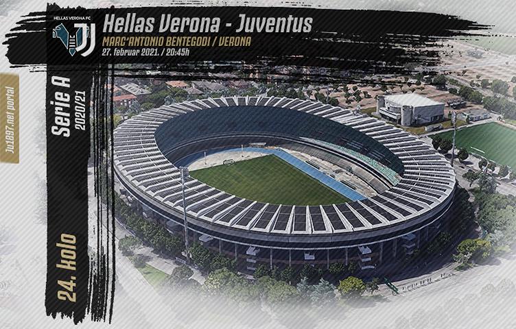 Serie A 2020/21 / 24. kolo / Verona - Juventus, subota, 20:45h