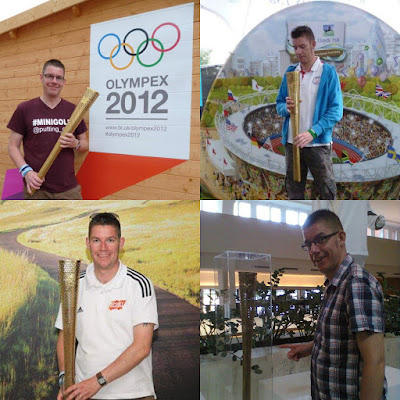 Olympic Torches in 2012