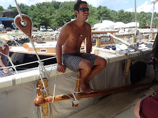 Hawaiian voyaging canoe Hokule'a: navigator Kaleo Wong