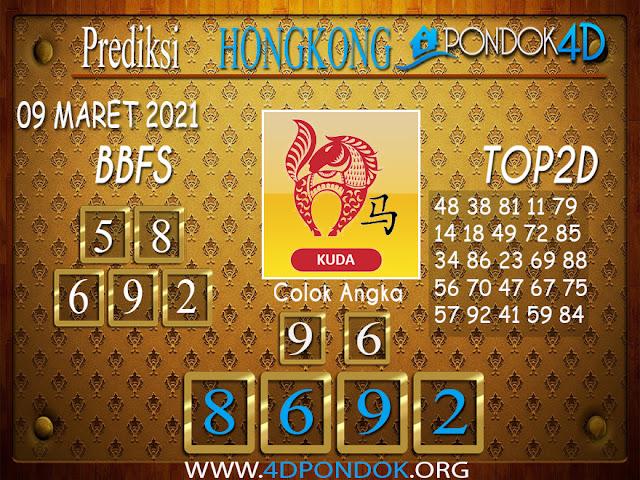 Prediksi Togel HONGKONG PONDOK4D 09 MARET 2021