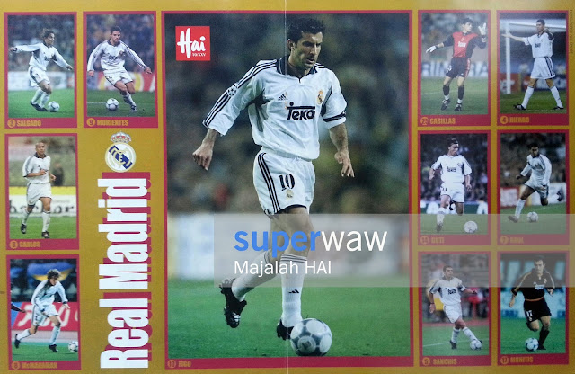 Skuad Real Madrid 1998