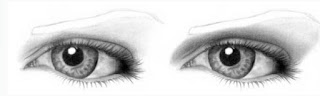 how to draw an eye pencil
