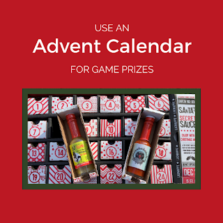 Advent Calendar Game Prizes