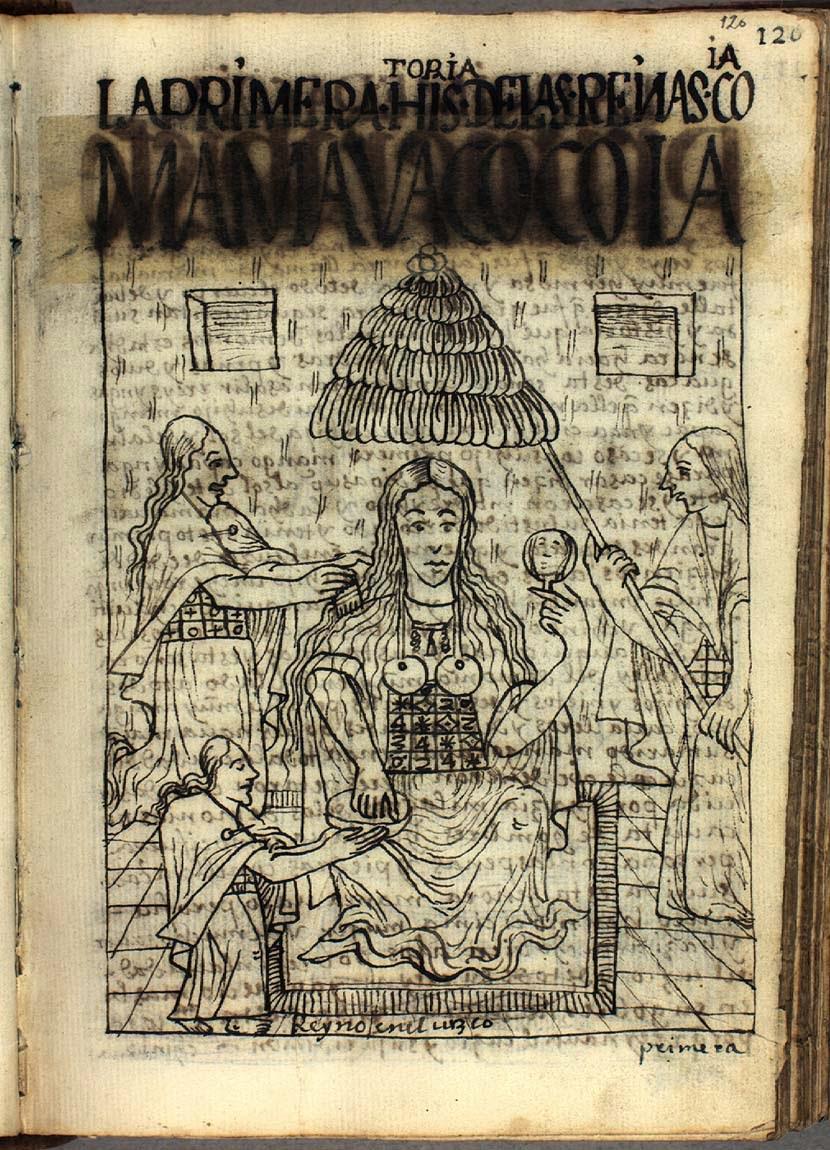 La primera reina Coya: Mama Huaco