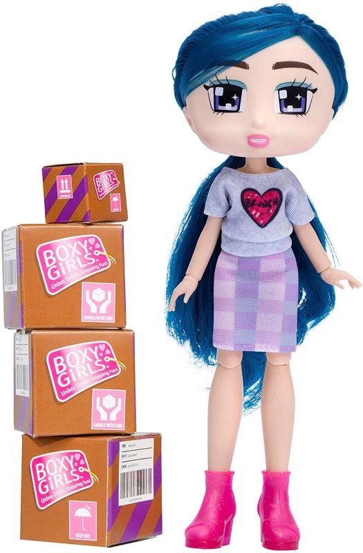 Шарнирная кукла Boxy Girls Peyton 2020