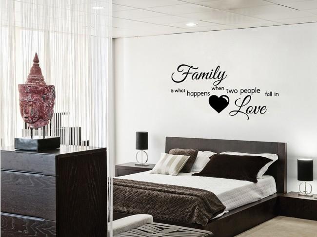 Il mondo degli adesivi murali - Adesivi murali camera da letto ...