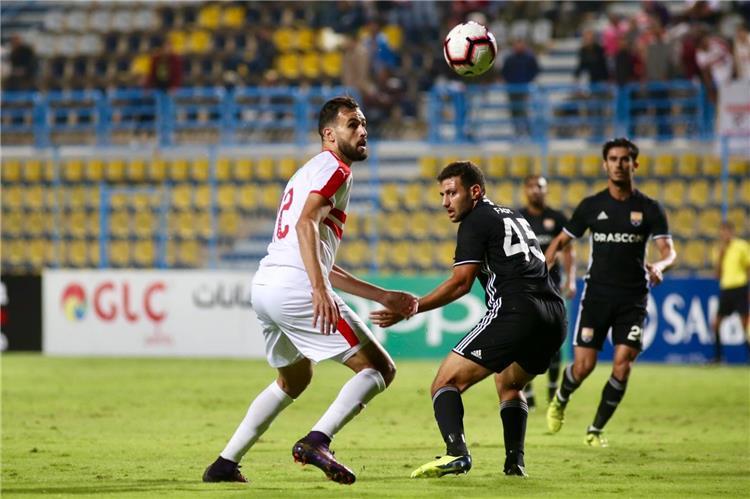 نتيجة مباراة الزمالك والجونة بتاريخ 21-07-2019 الدوري المصري