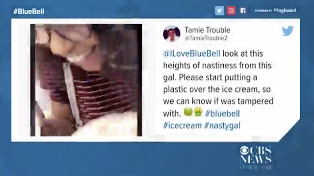 Police identify juvenile who licked ice cream tub in viral video