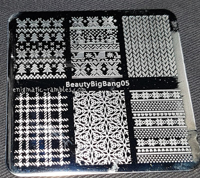 Stamping-Plate-Review-Beauty-Big-Bang-05-Tartan-Knit