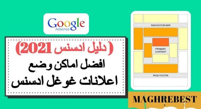 افضل اماكن وضع اعلانات غوغل ادسنس  (دليل ادسنس 2021)