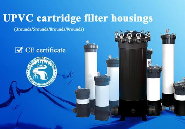 Housing Cartridge Filter PVC 40 inch isi 9