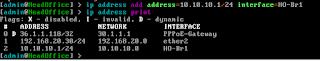 Penambahan IP Address pada inteface EoIP