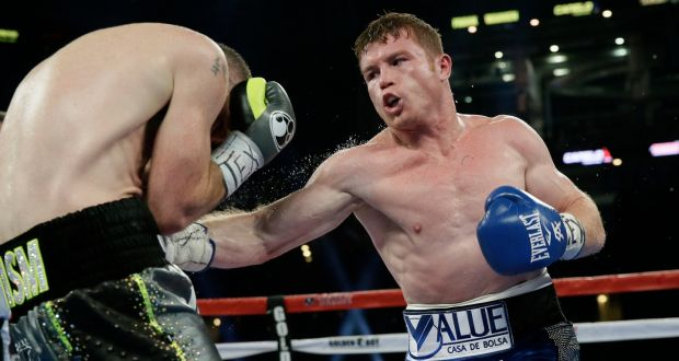 Canelo Alvarez Knocks Out