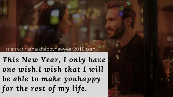 Happy New Year Messages for Boyfriend