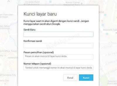 Wipe Data Vivo Minta Password