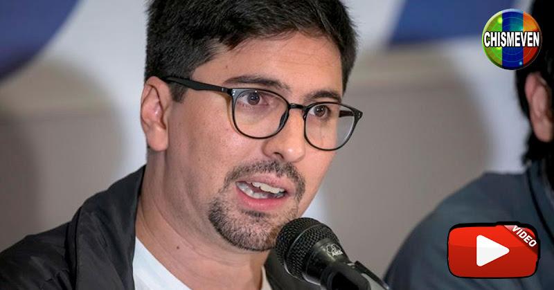 Freddy Guevara salió de la Embajada de Chile tras tres años de asilado