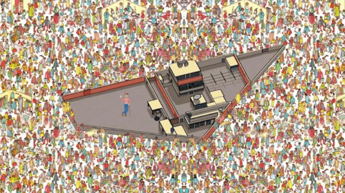 picture relating to Where's Waldo Printable known as Wheres waldo - Printable Edition