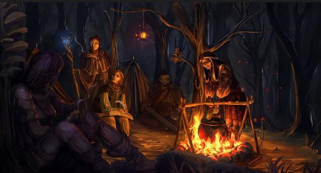 Jugadores Pasivos y Jugadores Activos - Campamento