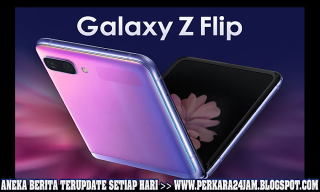 Smartphone Samsung Galaxy Z Flip Hadir Dengan 4 Warna